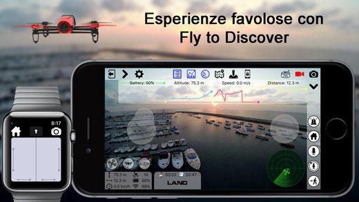 FlyToDiscover - Bebop app