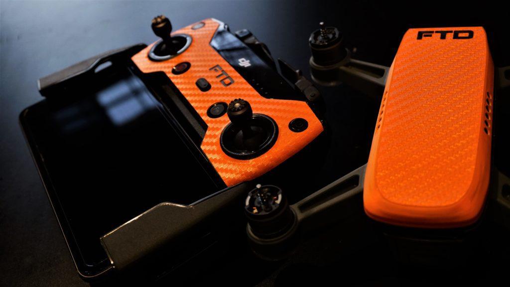 kit arancione per alleggerimento 300grammi dji spark