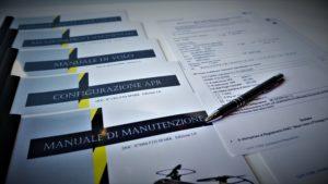 manualistica e dichiarazione di rispondenza al regolamento ENAC SAPR spark dji Lavorare con un drone da 300 grammi