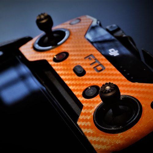 pellicola vinile adesivo arancione RC SPARK skin adesivo rc spark