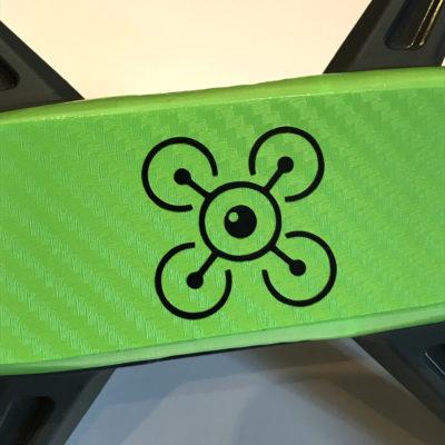 Logo Adesivo personalizzato dji spark logo personalizzato adesivo