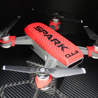 logo adesivo personalizzato vari colori vinile su drone