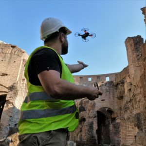 Drone 300g Colosseo - ROMA