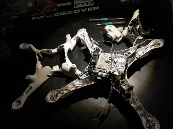 assistenza droni riparazione drone