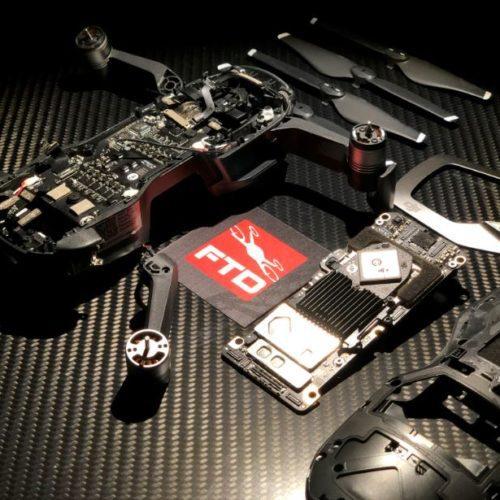 riparazione drone