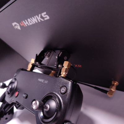 WIFI Extender Mavic Mini - 4HAWKS RAPTOR XR - 4HAWKS RAPTOR SR - Signal Boost Mavic Mini