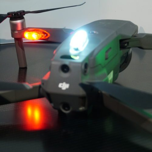 LED ALTA LUMINOSITA' PER NAVIGAZIONE NOTTURNA APR DRONE - Drones Navigation Light