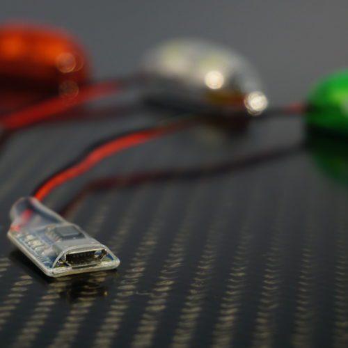 luci di navigazione notturna drone dji mavic pro phantom inspire