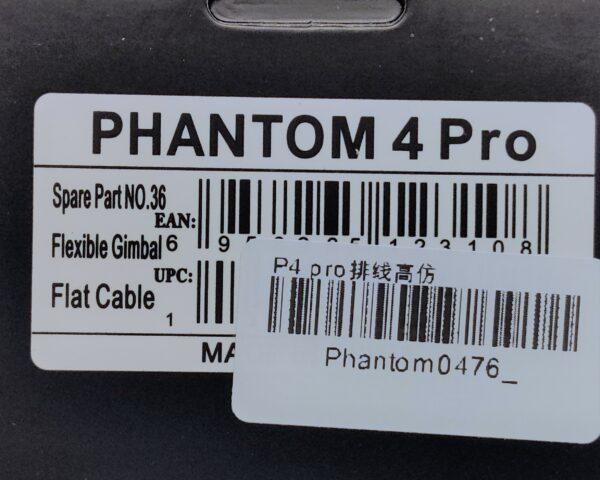 Phantom4 PRO cavo flat - Phantom4 pro flat ribbon cable - ricambi Phantom4 pro - ricambi dji - centro assistenza dji