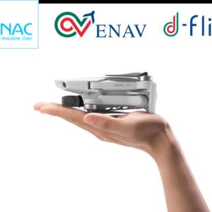 ly to discover -negozio droni roma roma -dji Mavic Mini fly more combo validazione ENAC manualistica Enac Inoffensivo