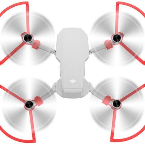 Para eliche Mavic Mini - Propeller Guard Mavic Mini - paraeliche mavic mini rosso