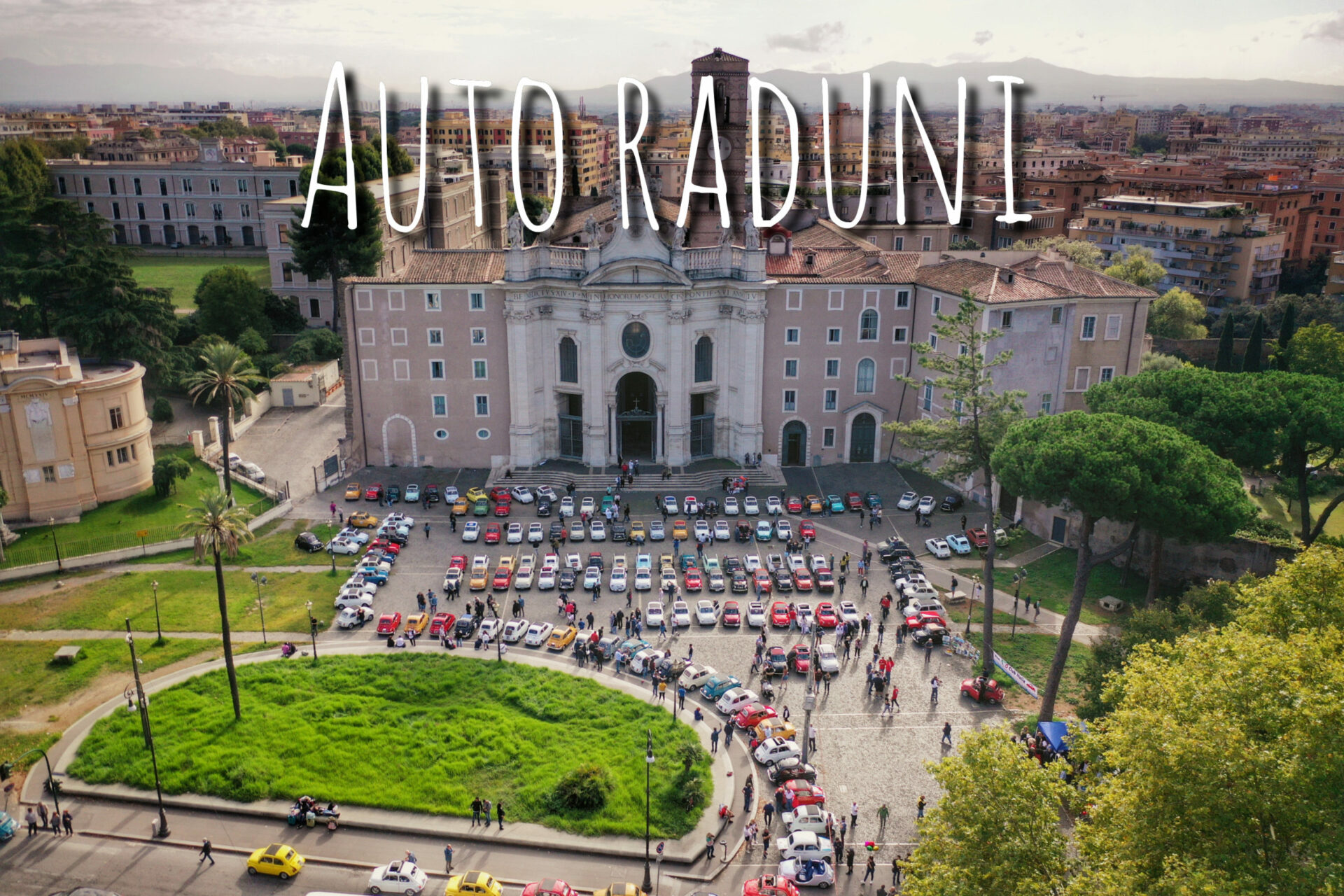 video riprese raduno fiat 500 italia club