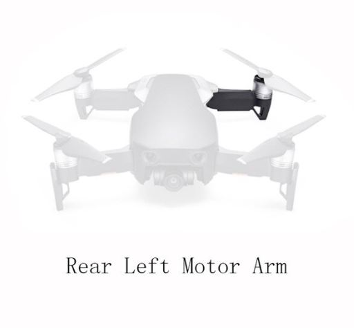 braccio posteriore Mavic AIR - Back arm Mavic air - Ricambi Mavic air - Ricambi DJI
