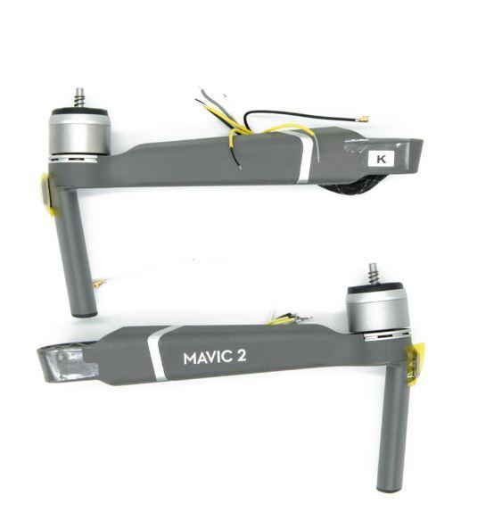 braccio anteriore Mavic 2 PRO - ZOOM - front arm mavic 2 - Ricambi dji mavic 2 - assistenza drone - motore mavic 2