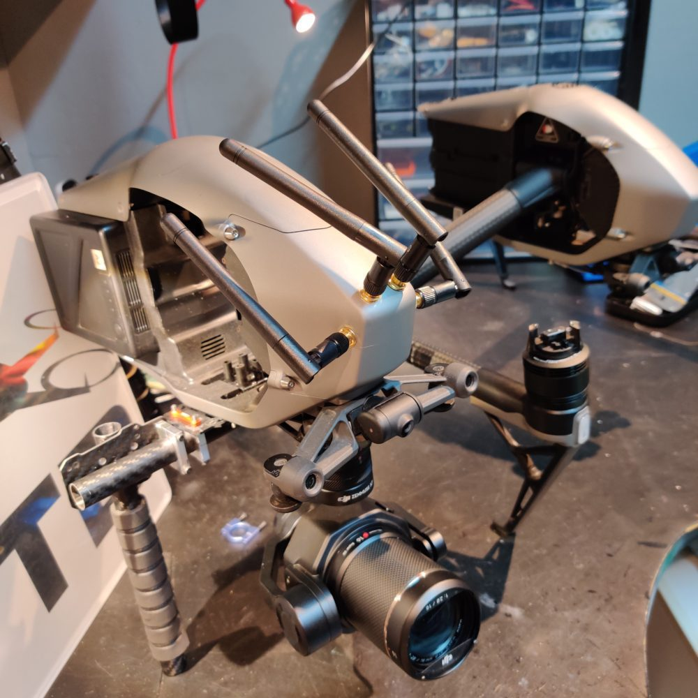 Inspire 2 Handheld Mod – Zenmuse X7 Gimbal – Osmo X7 – Osmo X5S