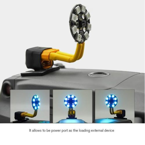 Dji Mavic 2 Battery Power Out Connector - Dji Mavic 2 Connettore batteria ausiliaria - Mavic2 increase flight time - Accessori dji mavic 2 -