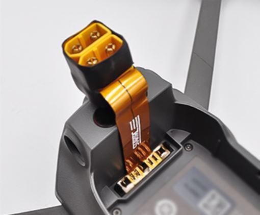 Dji Mavic 2 Battery Power Out Connector - Dji Mavic 2 Connettore batteria ausiliaria - Mavic2 increase flight time - Accessori dji mavic 2