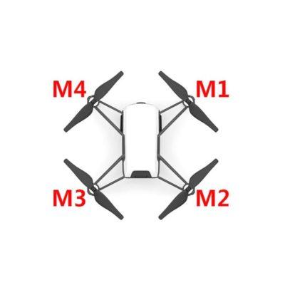 Dji Tello Motor - Tello Motor M1 M2 M3 M4 - Ryze Tello Motore - Ricambi Dji Tello - Centro assistenza Dji