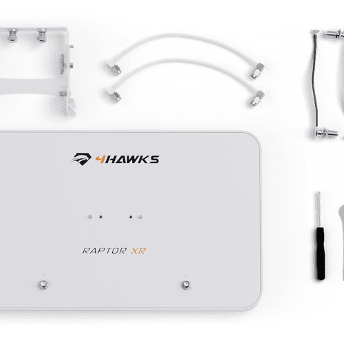 4HAWKS Raptor Phantom 3-4 - 4HAWKS XR - Range Extender Phantom 3-4 - Signal Booster Phantom 3-4 - 4HAWKS Phantom 3-4 - Antenne dji Phantom 3-4