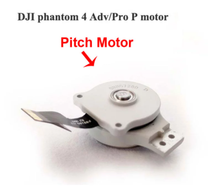Phantom 4 Pro Gimbal Pitch Motor - Motore Pitch Gimbal - Ricambi Gimbal - Centro Assistenza Dji