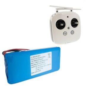 Dji Phantom 4 Controller Battery - Batteria Controller - Battery Model 1650120 - Ricambi Controller Dji Phantom 4 - Centro Assistenza Dji